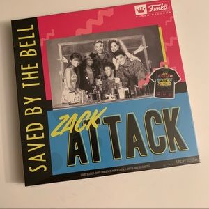 """Saved by the Bell """"Zack Attack"""" band tee gift"""
